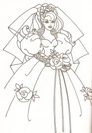 Miss Missy Paper Dolls Barbie Coloring Pages Part 2