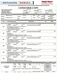 bureau express fillable bureau express sle tri merge report consumer