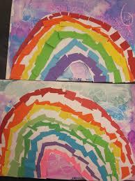 Image result for rainbow art children