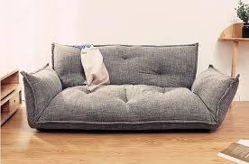 mode stil boden sofa bett 5 position einstellbar faul sofa asiatischen stil möbel wohnzimmer liege klapp sofa