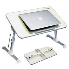 Avantree Quality Adjustable Laptop Table Portable Standing Bed