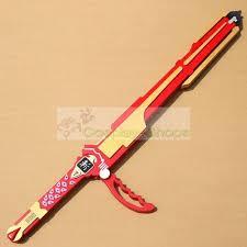 Halloween Town Keyblade by Power Rangers Ninja Storm Red Wind Sword Cosplay Prop Jpg