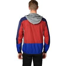 penfield cranford colour block jacket in navy for men