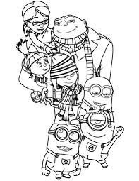 Free Desktop Coloring Disney Pages Minions On 25 Best Images