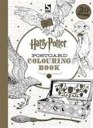 Image Is Loading NEW Harry Potter Postcard Colouring Book 1 Paperback