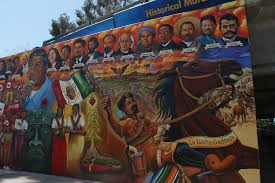 Chicano Park Murals Map by Discovering Southern California U0027s Murals Eric Felix