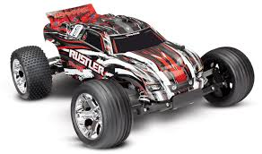 Traxxas Rustler 1/10 RTR 2WD Electric Stadium Truck (Red)