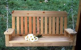 woodworking wooden garden swing bench plans plans pdf download