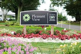 Pleasant View sign