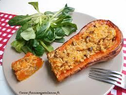 comment cuisiner courge butternut courges butternut farcies végétalien vegan végétalienne