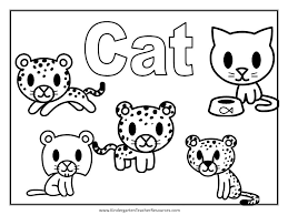 Free To Download Cats Coloring Pages 32 With Additional Site Print