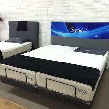 Adjustable Bed Base Split King by Reverie Adjustable Bed 7s Textured Motionflex Base With Zenith