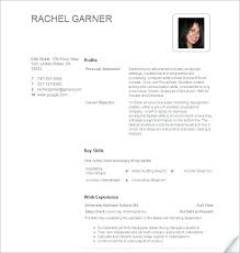 Character Resume Examples
