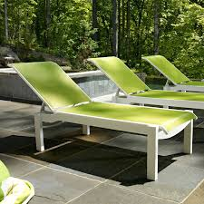 Stackable Outdoor Sling Chairs by Adams Mfg Corp White Resin Stackable Chaise Lounge Chair Stackable