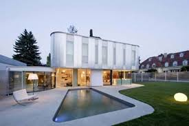 100 House Design By Architect Curved With Modern Ure From Caramel