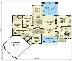 Craftsman Style Floor Plans Bungalow by Best 25 Best House Plans Ideas On Pinterest Retirement House