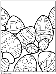 Heather Castles Easter Colouring Free Coloring Page