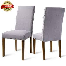 Merax Dining Chairs Dining Room Chairs Parsons Chair Kitchen Chairs Set Of  2 For Home Kitchen Living Room Ding Room Elegant Kfine Classic Upholstered Parsons Fniture Parson Chair For Your Interior Ideas Contemporary Gray Velvet Nailhead Set Kelsi In Blue Simple And Chairs Floral Fabric Wyndenhall Normandy 7 Pc With 6 And 66 Inch Wide Table Skirted Fresh Sarkis Muses 7piece Rectangular Back By Progressive At Wayside West Design Rustic Chairs Jax 5 Piece Rooms