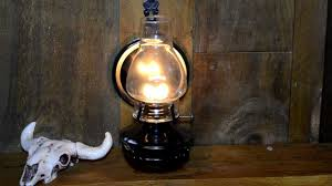 Lamplight Farms Oil Lamp by Lamplight Fireside Pewter Oil Lamp Youtube