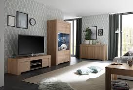 wohnzimmer set fren in eiche mit vitrine 202438 01 05 06