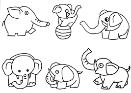 Jungle Animals Coloring Pictures Free Printable
