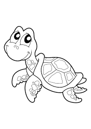 Tortue COLORIAGES