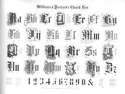 File Name Williamsand Packard Gemsof Penmanship P43 Old English 1867