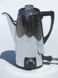Sunbeam Coffeemaster Coffee Percolator 1950s Vintage Maker Pot
