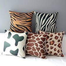 drap pour canapé drap pour canape animaux rayures housses de coussin tigre lacopard