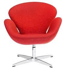 Wayfair Swivel Desk Chair by Fine Mod Imports Swan Swivel Armchair U0026 Reviews Wayfair