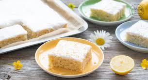 veganer zitronenkuchen ohne ei backen macht glücklich