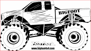 100 Truck Drawing Monster 146492 How To Draw Monster Colossal
