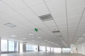 rockfon suspended ceiling grid matrix mesh raster lesson