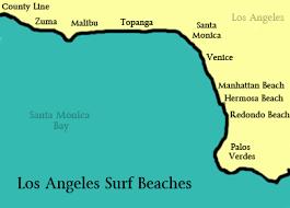 Classic California MALIBU Los Angeles Surf Beaches