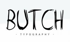 Stylized Font Style Design