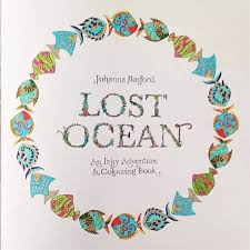 Aliexpress Buy Coloring Lost Ocean Book For Adults Kids Antistress Books Mandala Secret Garden Quiet Color Drawing 2525 Cm 88pages From