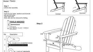 brilliant trex txa53 cape cod folding adirondack chair polywood furniture polywood folding adirondack chair ideas 585x329 jpg