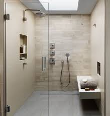 bathroom great contemporary bathroom with skylight and recessed