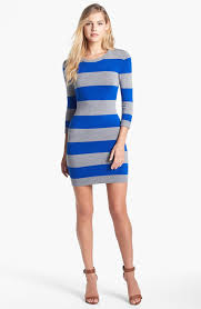 grey striped sweater dress cashmere sweater england