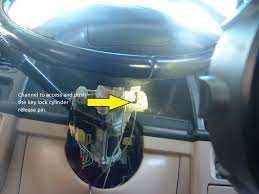 100 1994 Mazda Truck How Do You Remove The Ignition Key Lock Cylinder From The Column Of