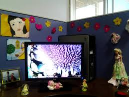 Cute Ways To Decorate Cubicle by Office Cubicle Ideas For With L Shape Desk And Divider To Decor M