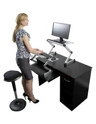 Dual Monitor Standing Desk Attachment by Portable Standing Desk