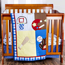 Vintage Baseball Crib Bedding by Winnie The Pooh Crib Bedding