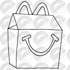 Clipart Library Black And White Free On Dumielauxepices Svg Stock Mcdonalds Drawing