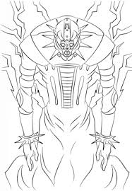 Click To See Printable Version Of Jinzo From Yu Gi Oh Coloring Page