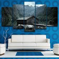 waczj 5 leinwandbilder wohnkultur wohnzimmer wandbilder 5