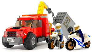 Lego City 60137 Tow Truck Trouble - Lego Speed Build - YouTube