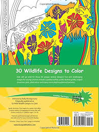 SPARK Wildlife Designs Coloring Book Dover Books Kelly Montgomery 9780486810928 Amazon