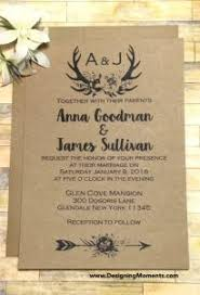 Rustic Wedding Invites Templates Country Invitation Psd Format