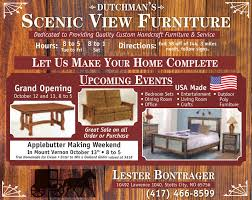SCENIC VIEW FURNITUREDedicated To Providing Quality Custom Handcraft Furniture ServiceHour 8
